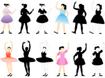 Ballerinas Royalty Free Stock Photo
