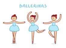 Ballerinas Royalty Free Stock Photos