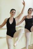 Ballerinas in a dance studio Royalty Free Stock Photos