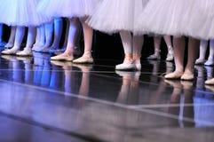 Ballerinas legs Royalty Free Stock Photo