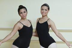 Ballerinas posing Stock Image