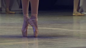 Ballerinas on the Stage stock video footage