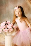 ballerinaskönhet little royaltyfria bilder