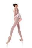 ballerinastanding arkivfoto