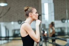 Ballerinastillstehen Lizenzfreies Stockfoto
