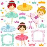Ballerinauppsättning Royaltyfria Bilder