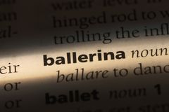 Ballerine Photos stock