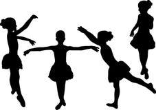Ballerine illustration de vecteur
