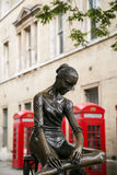 Ballerine dans la rue de Londres Image stock