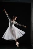 ballerine dans le blanc Photo libre de droits