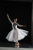 ballerine dans le blanc Photographie stock libre de droits