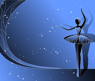 Ballerine de danse Illustration Stock