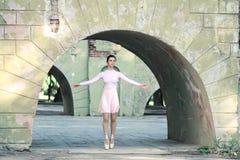 Ballerine dehors Photographie stock libre de droits