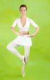 Ballerine exécutant une danse Photographie stock libre de droits