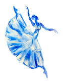 Ballerine, oil painting on canvas Royalty Free Stock Photography