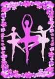 Ballerine rose Image libre de droits