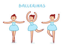 Ballerinen Lizenzfreie Stockfotos