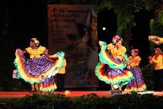 Ballerini capricciosi femminili colombiani Immagini Stock Libere da Diritti