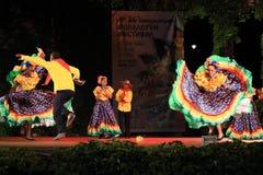 Ballerini capricciosi femminili colombiani Fotografia Stock Libera da Diritti