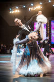 Ballerini che ballano ballo standard Immagini Stock
