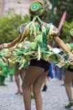 Ballerini che eseguono per l'apertura del Salta, Argentina di carnevale Immagine Stock Libera da Diritti
