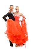 Ballerini del latino Fotografie Stock Libere da Diritti