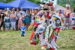 Ballerini del nativo americano Fotografia Stock Libera da Diritti