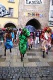 Ballerini della samba in Coburg fotografia stock libera da diritti