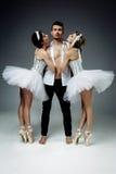 Ballerini di balletto classici Fotografia Stock Libera da Diritti