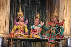 Ballerini di Bangkok fotografie stock