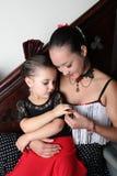 Ballerini di flamenco fotografia stock libera da diritti