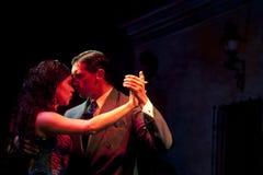 Ballerini di tango fotografie stock libere da diritti