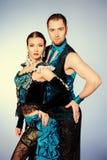 Ballerini di tango Immagini Stock Libere da Diritti