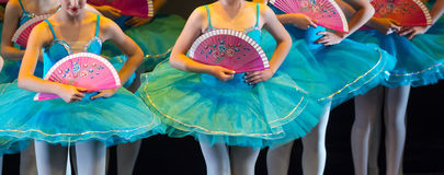 Ballerini durante le prestazioni di balletto gambe soltanto fotografia stock libera da diritti