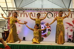 Ballerini tailandesi Fotografia Stock Libera da Diritti