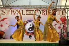 Ballerini tailandesi Fotografie Stock