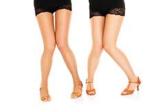 Ballerini timidi Fotografia Stock Libera da Diritti