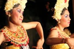 Ballerini tradizionali di balinese (donne) immagine stock