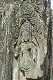 Ballerino Carving di Apsara Fotografia Stock