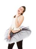 Ballerino classico che sbadiglia immagini stock
