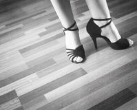Ballerino del Latino di ballo da sala Immagine Stock
