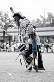 Ballerino del nativo americano Immagine Stock