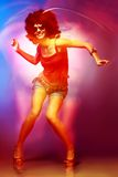 Ballerino della discoteca Fotografia Stock Libera da Diritti