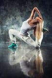 Ballerino della giovane donna Fotografia Stock