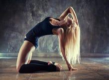 Ballerino della giovane donna Immagini Stock Libere da Diritti
