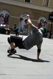 Ballerino della via Fotografia Stock