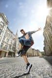 Ballerino della via Immagini Stock