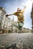 Ballerino della via Fotografie Stock