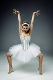 Ballerino di balletto classico femminile Immagine Stock