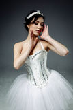 Ballerino di balletto classico femminile Fotografia Stock